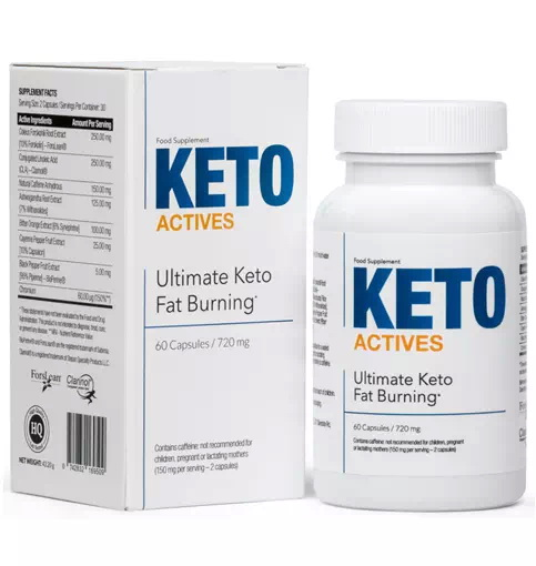 Keto Actives bottle