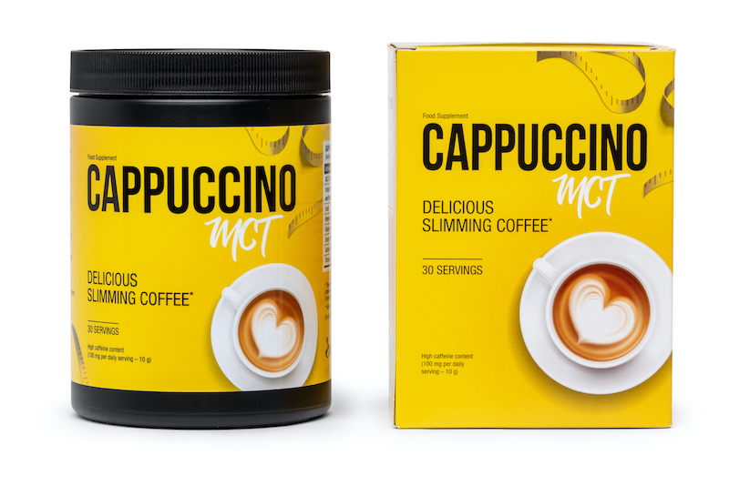 Cappuccino MCT bottle.