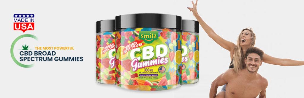 Smilz CBD product.